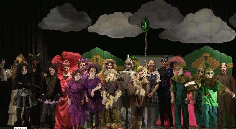 22 Апреля 2017 г. Спектакль «Театра Часы» Калгари «Фея летающего домика»